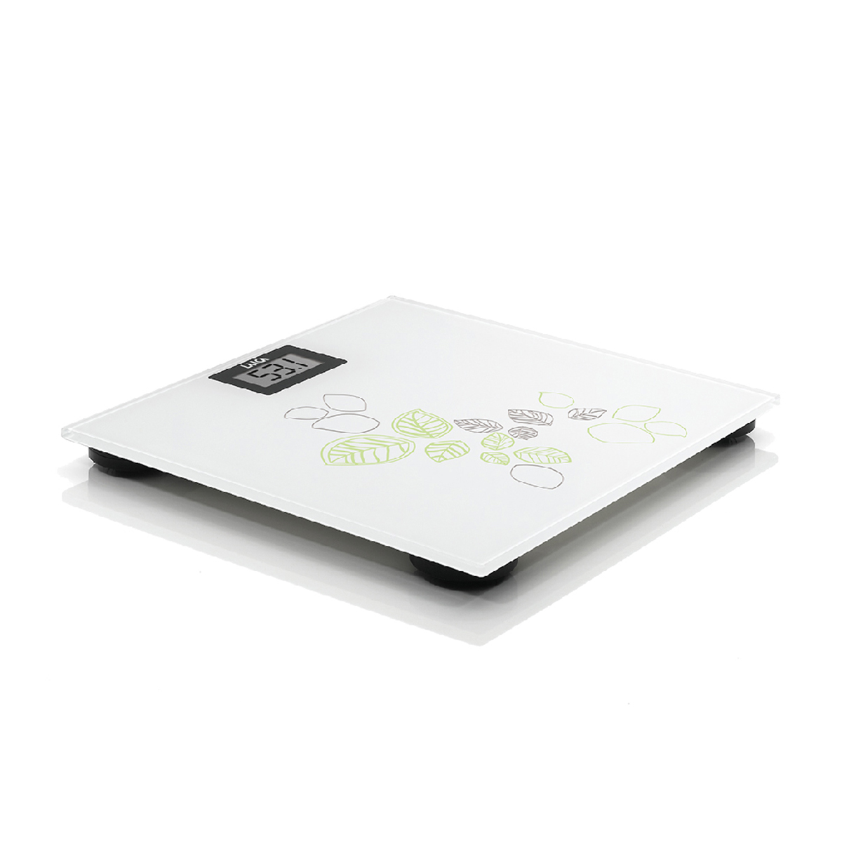 【三色基本款】電子體重秤-自然葉片風 1