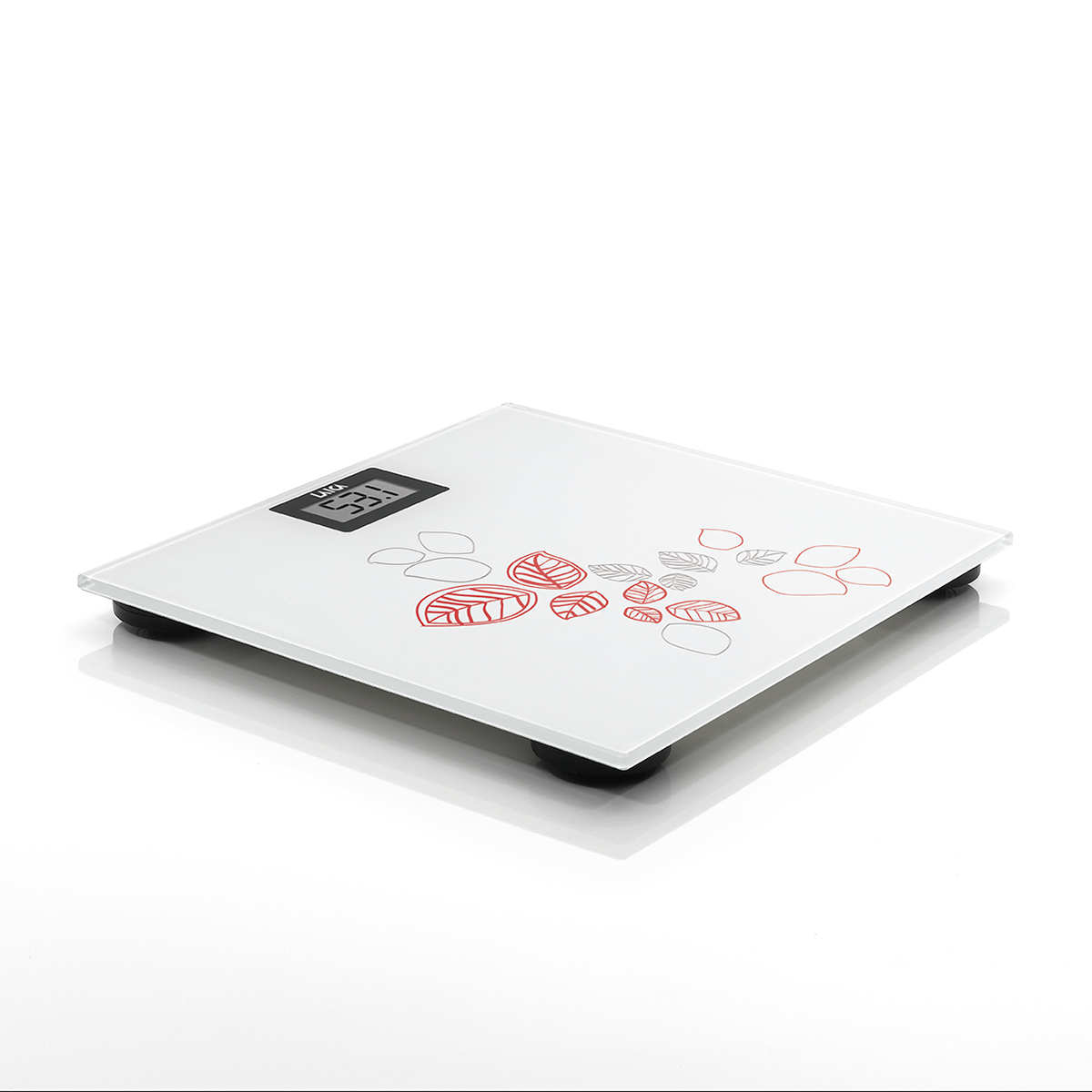 【三色基本款】電子體重秤-自然葉片風 2