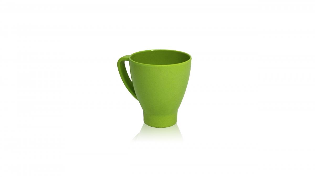 環保咖啡竹杯-綠 1